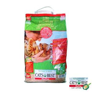 Cat's Best 德國凱優木質凝結砂-紅標10L*5包組G142A02-1
