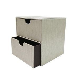 莫納雙格收納盒-米色