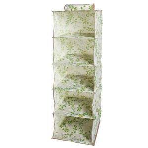 蜜莉5格毛櫥 30.5x30.5x101.6cm [需配合吊衣桿吊掛使用]