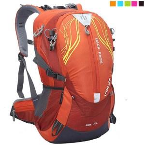 【PUSH! 戶外休閒登山用品】40L 登山包 旅行背包 U13-1橘色