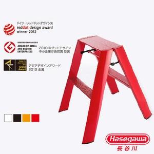 【長谷川Hasegawa設計好梯】Lucnao設計傢俱梯二階紅色(56CM)