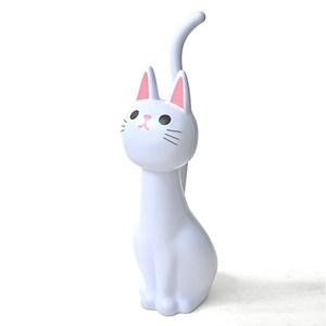 日本MEIHO喵咪造型馬桶刷(白色)