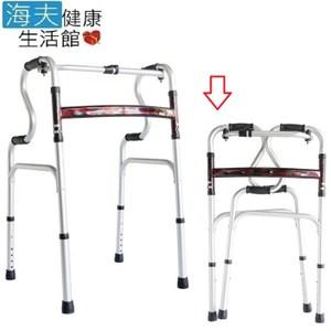 【海夫健康生活館】必翔 鋁合金 移動式 R型助行器(YK7410)