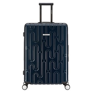 【CENTURION百夫長】拉鍊款26吋U_GVA日內瓦藍行李箱
