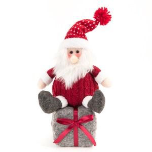 聖誕老人禮物盒擺飾24cm