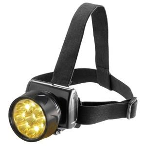 【日象】9Lamp充電式極亮LED頭燈(黃光) ZOL-7800D