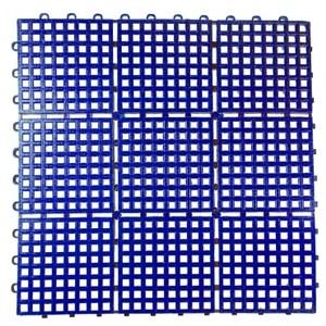 九格防滑墊39*39*1.5公分藍