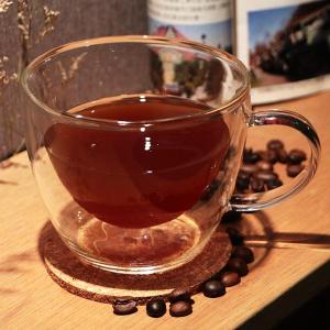 Artist精選 耐熱玻璃卡布奇諾/摩卡/拿鐵雙層咖啡杯300ml