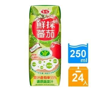 【愛之味】OLIGO健字號鮮採蕃茄汁250ML(24瓶/箱)