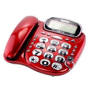 三洋大字鍵有線電話TEL539