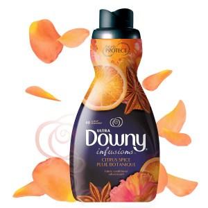 美國原裝Downy超濃縮柔軟精-柑橘香氛(1230ml)*2