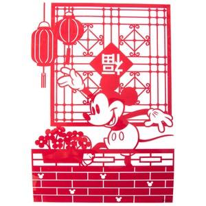 HOLA 迪士尼系列 春聯窗花 米奇陽台款 MICKEY
