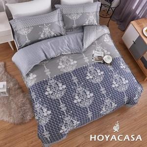 【HOYACASA】燦享加大四件式抗菌天絲兩用被床包組