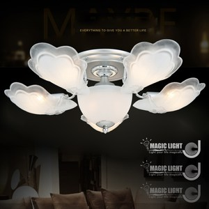 【光的魔法師】銀天使 半吸頂五燈 臥室燈具 吸頂燈飾