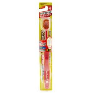 日本 EBISU 48孔6列優質倍護牙刷 圓頭舒適型 混色隨機