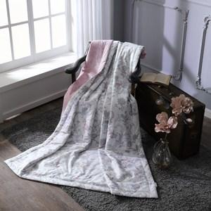【BBL Premium】暖香綻放100%精梳棉.印花涼被-單人單人