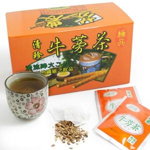 【那魯灣】清珍牛蒡茶包4盒(5gX20包/盒)