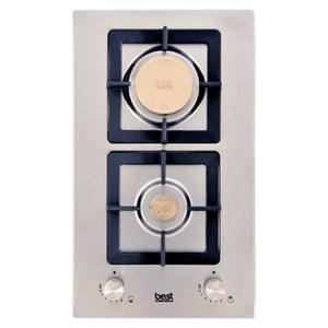 【義大利貝斯特best】精密銅爐頭不鏽鋼雙口高效能瓦斯爐GH295930.4*50.9CM