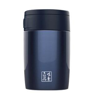 魔法瓶嚴選 304不鏽鋼琺瑯真空燜燒罐460ml(藍色)