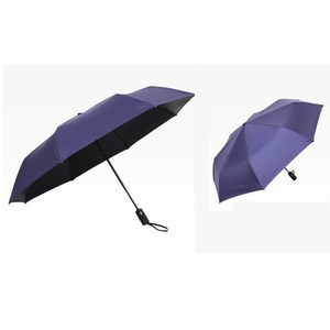 【PUSH! 好聚好傘】一鍵開收全自動遮陽傘防紫外線(黑色)I65