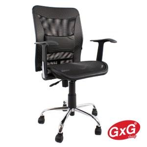 GXG 短背全網 電腦椅 TW-044 (黑色)