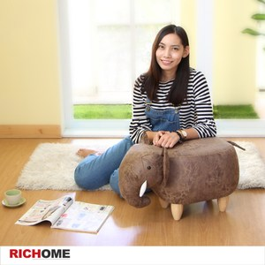 【RICHOME】MIRO大象壯壯造型凳