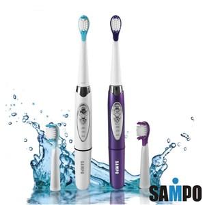 SAMPO聲寶 音波震動牙刷(白/紫 顏色隨機) TB-Z1508L