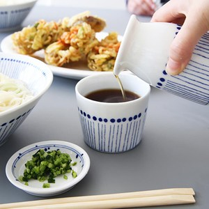 日本美濃燒 藍十草茶杯 220ml