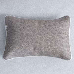 HOLA 艾爾亞藤抗菌防蟎枕套 51x71cm 灰