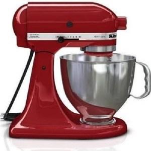 KitchenAid 桌上型攪拌機-經典紅色
