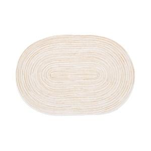 蔓綺編織橢圓餐墊30x45cm米