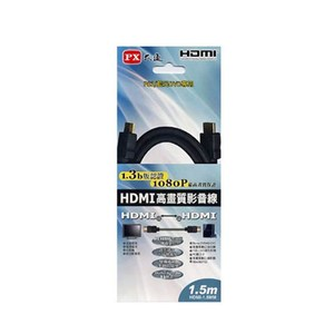 PX大通 HDMI 1.5M傳輸線 HDMI-1.5MMHDMI-1.5MM