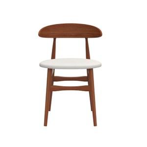 珀莉餐椅 米白 單椅