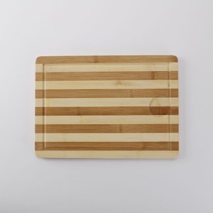 HOLA 竹製雙色拼板砧板35x25cm