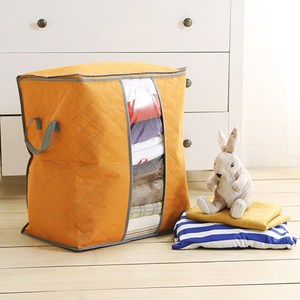 HONEY COMB 出清 衣物收納 被子收納袋 兩色GT-3209 橘色