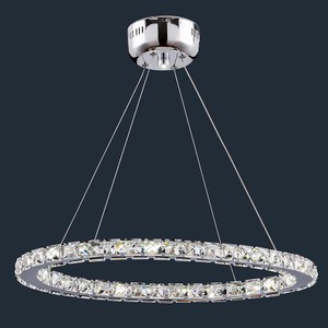 HONEY COMB LED 22W水晶橢圓型餐吊燈BL91333 / 白光