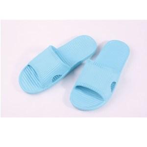 51005認真系列室外休閒拖鞋 性格水藍