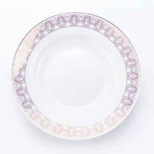 HOLA 凱莎骨瓷湯盤 23cm