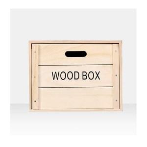 木質抽屜收納箱 50x29.5cm