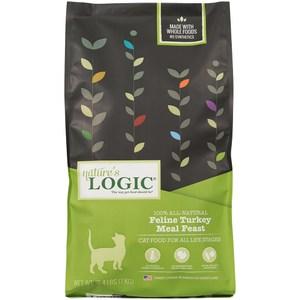 Natures Logic 自然邏輯 低敏天然糧 全貓火雞肉配方 15.4磅