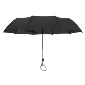 PUSH!居家生活用品一鍵開收全自動晴雨兩用傘I84黑色黑色