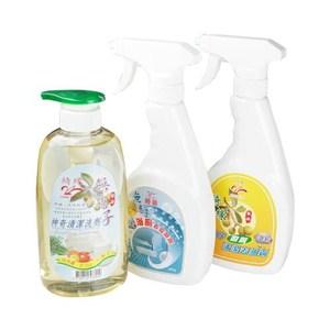 【綺緣 無患子】廚房‧浴廁‧清潔劑全方位超值組合
