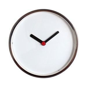 lovel 16cm時光小偷鋁框靜音壁掛時鐘(m736)