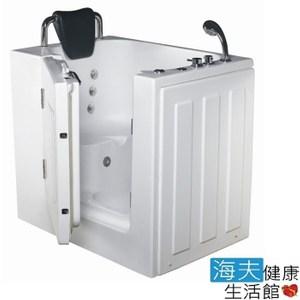 【海夫】開門式浴缸 103-T 恆溫水柱按摩款_98*69*92cm