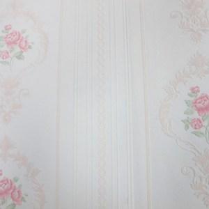 自黏式快貼壁紙 53x500cm 優雅玫瑰