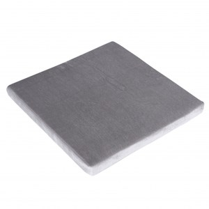 晶亮立體坐墊55x55cm 灰色