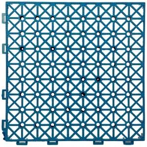 高架排水地板4片30x30x3CM/藍