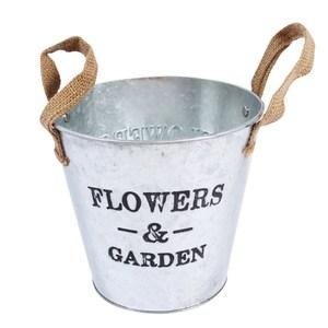 Garden鐵製雙耳圓桶-5吋