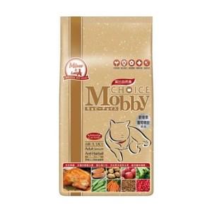 Mobby 莫比 高齡貓 老貓 抗毛球 配方 自然食飼料 3kg X 1包