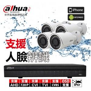 【Dahua】套餐 8路主機 4鏡頭 含硬碟2T+15米懶人線